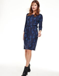 Dear Stylist: I own this dress and it fits perfectly. Waistline at the hips, length to the knees