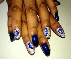One stroke nail art using Kiko NailPolish  #onestroke #nailart #kikocosmetics #nails #handpainted