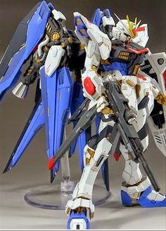 Custom Build: MG 1/100 Strike Freedom Gundam Mix Build - Gundam Kits Collection…