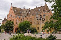 Town Hall of Kecskemét. The building was designed in Art Nouveau style Ödön Lechner and Gyula Pártos (1893-97)