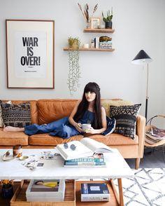 @newdarlings - living room ft. @mooreaseal