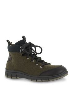 Easy Street Green Sport Lyla Tie Casual Shoe