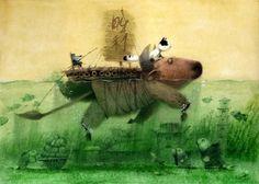 ♨ Intriguing Images ♨ unusual art photographs, paintings & illustrations - Igor Oleynikov