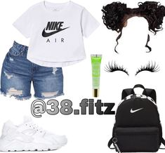 Swag Outfits For Girls, Boujee Outfits, Cute Lazy Outfits, Cute Swag Outfits, Teenage Girl Outfits, Teen Fashion Outfits, Dope Outfits, Girly Outfits, Simple Outfits