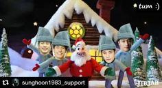 #Repost @sunghoon1983_support ・・・ #Santa Claus #SungHoon is Coming to Town video by our fans Thank you #merrychristmas & Happy new year 2017 ^^ . #성훈 #배우성훈  @sunghoon1983  @stallion__entertainment #ソンフン #방성훈 #成勋 #成勛 #sunghoon1983  #sunghoon1983_support #스탤리온엔터테인먼트 #StallionEntertainment #StallionCNM #우리동네예체능 #신기생뎐 #PassionateLove #고결한그대  #noblemylove #오마이비너스 #ohmyvenus #아이가다섯 #FiveChildren #돌아와요부산항애 #ComeBackToBusanPort #애타는로맨스 #MysecretRomance #아이돌마스터KR #IDOLMASTERKR .
