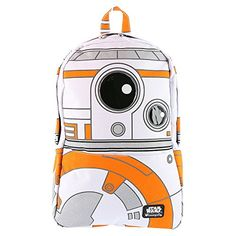 Star Wars Episode VII BB8 Backpack 12 x 18in *** This is an Amazon Affiliate link. Check this awesome product by going to the link at the image.