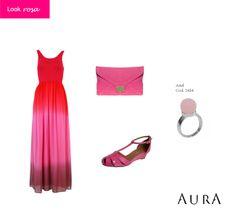 Romance, carinho e muuuuito amor próprio são as promessas para quem começa o novo ano com #rosa! Curtiu? ;) (Cod. do #anel: 5484) #dica #moda #auraprata