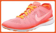 Nike Free 5.0 TR Fit 5 BRTHE Womens Orange Mesh Athletic Lace Up Running Shoes 6.5 - Athletic shoes for women (*Amazon Partner-Link)