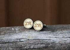 Personalized Men's Cufflinks by mini-Fab | Hatch.co