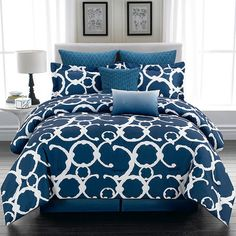 8-Piece Shana Comforter Set