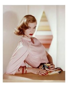 Premium Photographic Print: Vogue - April 1955 by Horst P. Horst : 12x9in