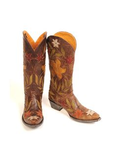 wouldn't you know it - I was looking at some cowgirls boots and I must have picked the mos expensive boot out there - I can dream, but they are out of my price range.