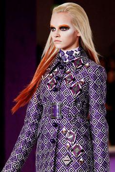 love the design on her blazer