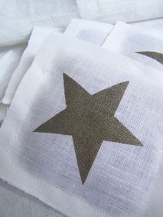 Cute star napkins