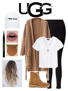 """""""The New Classics With UGG: Contest Entry"""" by basic-b101 ❤ liked on Polyvore featuring UGG, Miss Selfridge, Topshop, Nasaseasons, Michael Kors, Wolf & Moon, Givenchy, Stila and ugg"""