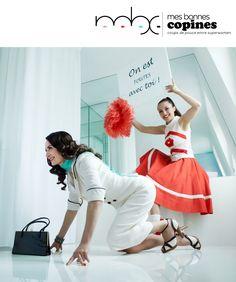 MesBonnesCopines.com se serrent les coudes pour aller au combat !