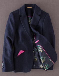 Wool Bistro Blazer WE415 Jackets at Boden