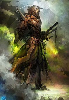 Copper Samurai by dinmoney on DeviantArt