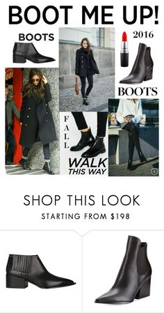 """""""Chelsea Boots"""" by kotnourka ❤ liked on Polyvore featuring Givenchy, Kendall + Kylie and MAC Cosmetics"""