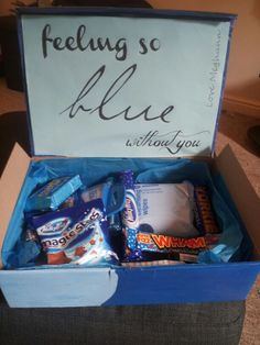 A care package for Rachel