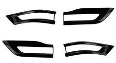 SRT8 Black Taillamp Bezels #SRT8TaillampBezels