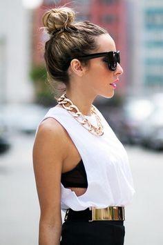 Black White & Gold