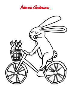 Easter Coloring Page Easter Coloring Pages, Free Coloring Pages, Toddler Crafts, Crafts For Kids, Simple Illustration, Preschool Worksheets, Hanna Andersson, My Little Girl, Hana