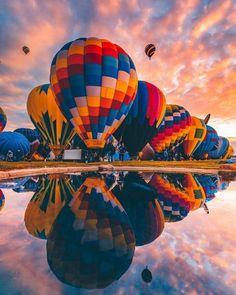 International Balloon Fiesta Albuquerque New Mexico. Internationaler Ballon Fiesta Albuquerque New Mexico. Albuquerque Balloon Festival, Albuquerque Balloon Fiesta, Air Balloon Festival, Albuquerque News, Nature Photography, Travel Photography, Photography Ideas, Air Ballon, Hot Air Balloons