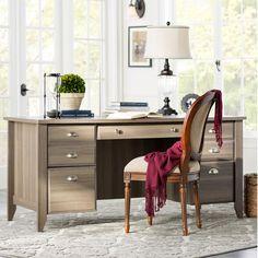 Three Posts Derwent Executive Desk & Reviews | Wayfair