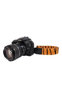 CAMR01 1.5In Tiger Print Camera Strap - Last Call