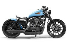 Custom Harley Sportster by Shaw Speed. I'm not a big fan of the sportster, but this is a pretty cool looking one.