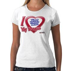I Love My Boys - Photo Tee Shirt