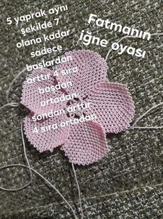 Needle Lace, Crochet Hats, Knitting, Flowers, Embroidery Designs, Hairstyle Man, Tutorials, Knitting Hats, Tricot