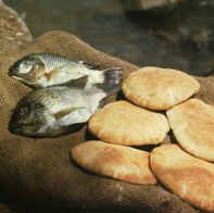 Even Though It Made No Sense As A Kid Mark Was The Coolest Bible Story Ever How Is Possible To Feed People With Just Five Loaves Of Bread And Two Fish