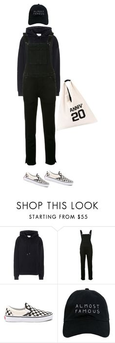 """""""Untitled #4841"""" by memoiree ❤ liked on Polyvore featuring Acne Studios, Ksubi, Vans, Nasaseasons and MM6 Maison Margiela"""