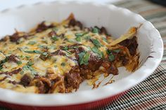 Beef Enchilada Casserole - Taste and Tell