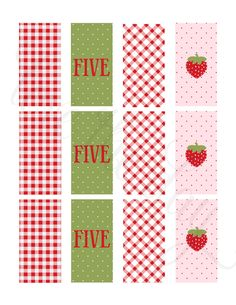 Mini Candy Bar Wrappers by Love The Day