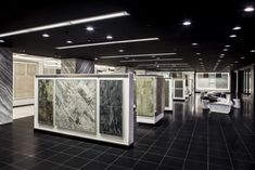 Showroom Interior Design, Retail Interior, Commercial Interior Design, Commercial Interiors, Olympia Tile, Bath Showroom, Shop Fittings, Store Fixtures, Retail Shop