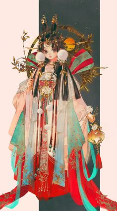 Flying Lines is a hub of hottest Chinese novels. High-rated historical books you must read! Pretty Art, Cute Art, Character Illustration, Illustration Art, Botanical Illustration, Drawn Art, China Art, Character Design Inspiration, Anime Art Girl