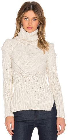 AYNI cable knit sweater