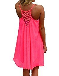bb1569c7a2b swimsuits · Women's Summer Sexy Vibrant Color Chiffon Dress Bathing Suit  Cover up Bathing Suit Dress, Bathing