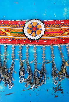 Kuchi Tribal Belly Dance Belt. $75.00, via Etsy.