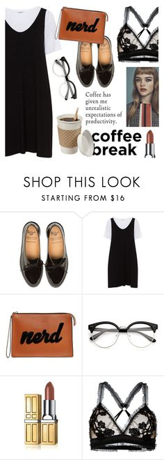 """""""Caffeine Fix: Coffee Break"""" by s-best ❤ liked on Polyvore featuring Zizzi, Les Petits Joueurs, Elizabeth Arden, For Love & Lemons, polyvorecontest and coffeebreak"""