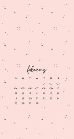 February Patterned Phone WallpapersHere are some monthly phone wallpapers with matching desktop wallpapers. I created versions starting on Monday and Sunday so you can pick the one you use more...