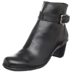 Naturalizer Women's Olwen Ankle Boot leather Manmade sole Shaft measures approximately 5 from arch Heel measures approximately Boot opening measures approximately 10 around This shoes / sandals / boots style name or model number is Olwen Color: Black …