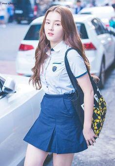 That (Hidden) Princess School Uniform Outfits, School Girl Outfit, Girl Outfits, Korean Beauty Girls, Beauty Full Girl, Korean Girl, Nancy Jewel Mcdonie, Nancy Momoland, Beautiful Girl Image