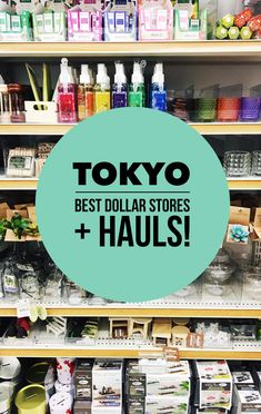 Shopping in Tokyo, Japan is next level. From multi-level departments stores to tiny specialized shops that only sell chopsticks, Tokyo has it all. It can be overwhelming, but there is one retail concept you have to check out while in Tokyo: 100 yen shops aka hyaku-en (¥100) shops. #JapanTravelHolidays