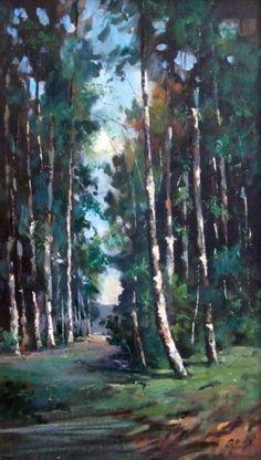 Gróf Zoltán: Erdei ösvény - Vándorfény Galéria