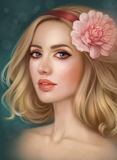 Find images and videos about arte, beauty and drawing on We Heart It - the app to get lost in what you love. Fantasy Art Women, Beautiful Fantasy Art, Fantasy Girl, Devian Art, Digital Art Girl, Anime Art Girl, Portrait Art, Girl Portraits, Face Art