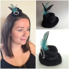 Tiny hat by Alison Eder To order email minimilliner at gmail dot  f1d66ee07ed